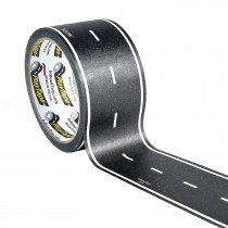 "PlayTape 60'x2"" Black Classic Road Tape - Car Tape Great for Kids, Sticker Roll for Cars and Train Sets, Stick to Floors and Walls, Quick Cleanup, Children Toys Birthday Gift"