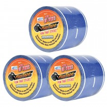 PlayTape Blue Road 3-Pack - Instantly Create your Own Roads Anytime, Anywhere - For All Kids Who Love Cars & Trains - Perfect for Birthday Gifts & Endless Fun.